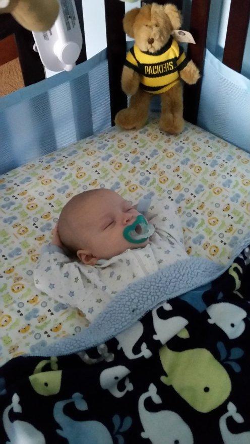 Chilling in my Crib
